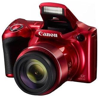 Canon PowerShot SX420 IS Digital Camera - Red (1069C001)