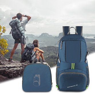 35L Outdoor Foldable Waterproof Backpack Lightweight Portable Daypack Rucksack