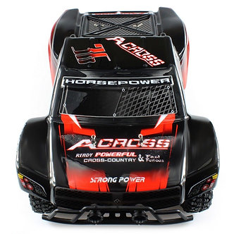 WLtoys No. 12423 1 / 12 2.4GHz RC Car 4WD 50KM / H Racing Truck Toys Gifts RED