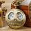 Thumbnail: Antique Skull Nightmare Before Christmas Quartz Pocket Watch Necklace Chain