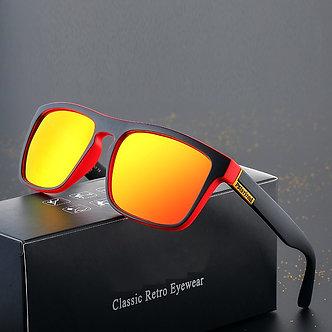 New Fashion Men's Polarized Sunglasses Retro Brand Design UV400 Square Ladies