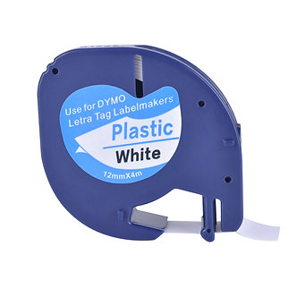 1 Compatible Dymo LetraTag 91331 S0721660 , LT-110T, QX 50, XR, XM, 91221 Tape