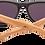 Thumbnail: Real Zebra Wood Wanderer Sunglasses by WUDN