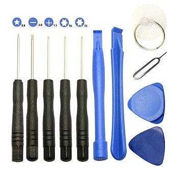 11Pcs/Set Screwdriver Repair Tools Kit Opening Pry for iPhone 8 7 6 5 4 4S