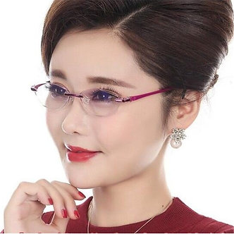 +1.50 +2.00 +3.00 Vasos Retro Eyewear Oculos De Grau Feminino Prescription