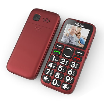 2020 YINGTAIT19 Senior Feature Mobile Phone for Old Man NoCamera GSM Big Push