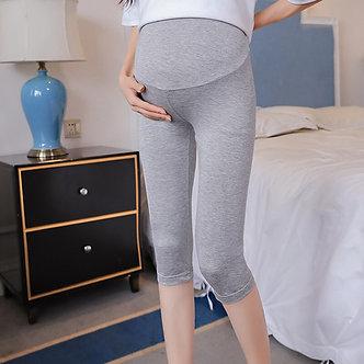 7/10 Length Thin Modal Skinny Maternity Legging Summer Hot Slim Elastic Waist