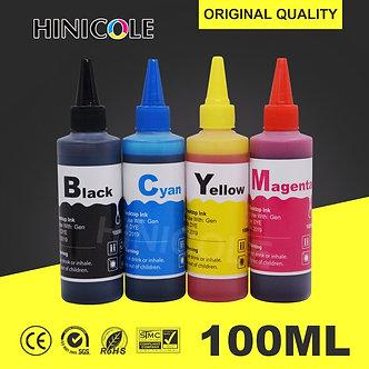 100ml Ink Refill Kit for HP 21 22 301 302 304 121 122 123 650 652 300 140 141