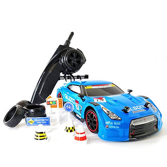 4WD Drive Rapid Drift Remote Control GTR Car 2.4G Radio Control Off