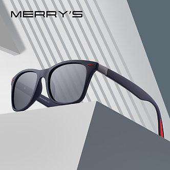 MERRYS DESIGN Men Women Classic Retro Rivet Polarized Sunglasses Lighter