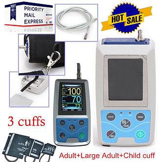 FDA-CE-Digital-Ambulatory-Blood-Pressure-Monitor-Upper-Arm-3pcs-BP-Cuff-Software