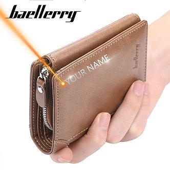 2020 Baellerry Short Men Wallets 11 Card Holders Desigh Zipper Men Leather