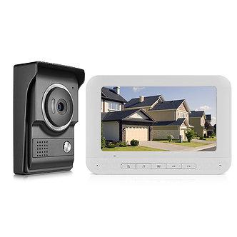 7inch Video Door Phone Doorbell IntercomTFT-LCD Color Screen Night Vision