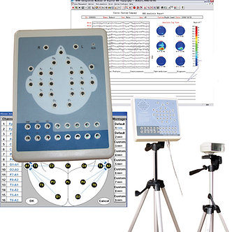 EEG 16 Channel Digital EEG And Mapping System KT88-1016,CONTEC,Brain electric,CE