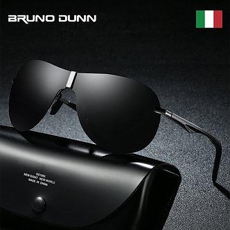 Bruno Dunn AVIATION Sunglasses Men Polarized UV400 High Quality Brand Design
