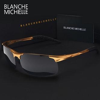 High Quality Ultra-Light Aluminum Magnesium Sport Sunglasses Polarized Men