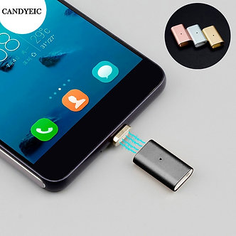 CANDYEIC Micro USB 2.0 Magnetic Adapter for Android Huawei USB Cable, Magnetic