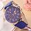 Thumbnail: 1PC Quartz Watch  Leather Band Women Ladies Men Fashion Bracelet Wrist Watch