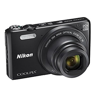 Nikon COOLPIX S7000 16MP Digital Camera - 20x Optical Zoom - Black (26483