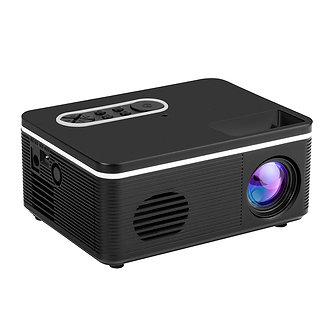 1080P Mini HD Projector Portable Projetor LED Light USB AV Port for Office Home