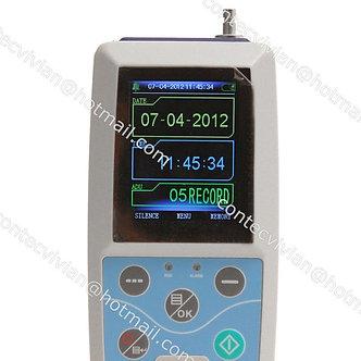 USA, ABPM50 24h Arm NIBP care Ambulatory Blood Pressure Monitor+pulse Oximeter