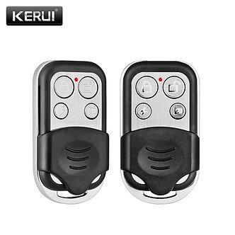 2pcs/Lot KERUI RC528 Wireless Metallic Remote Control for Wireless Security