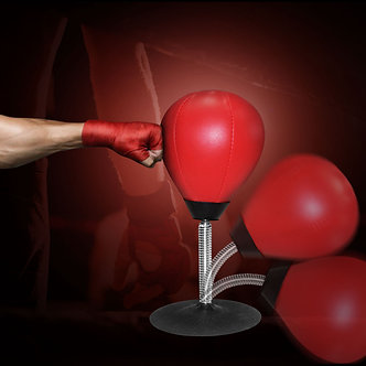 ALBREDA High Quality Desk Boxing Punching Bag Speed Ball Bags PU Punch Training