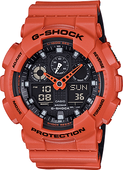 CASIO G SHOCK GA100L-4A ORIGINAL