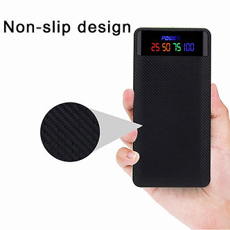 DIY 2.1A USB Power Bank Case 4/6x18650 Battery Charger Box Case Kit For Phone C