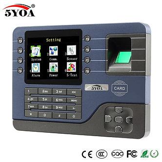 5YOA 5YA091A TCP IP Biometric Fingerprint Time Attendance Clock Recorder