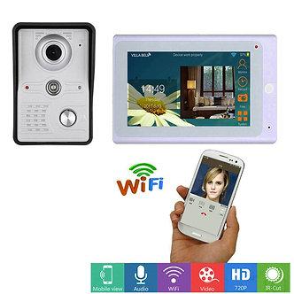 7inch Wireless/Wired Wifi IP Video Door Phone Doorbell Intercom Entry System