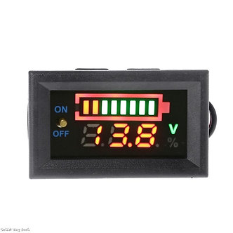 12V Car Lead Acid Battery Charge Level Indicator Battery Tester Lithium