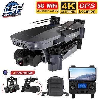 2021 NEW SG907 Pro Drone Quadcopter GPS 5G WIFI 4k HD Mechanical 2-Axis Gimbal