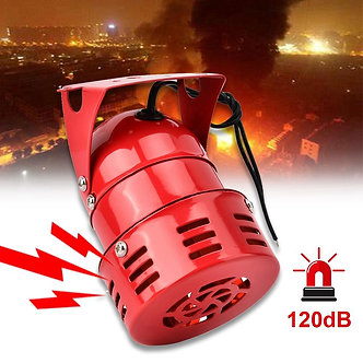 40W 120DB Electric Motor Driven Alarm Factory Vehicle Mini Fire Prevention Horn