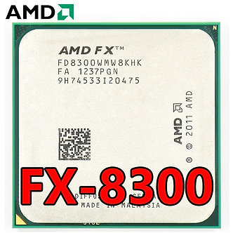 AMD Eight-Core FX 8300 3.3 GHz 8M Cache CPU Processor Socket AM3+ 95W FX-8300