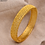 Thumbnail: 24k Dubai Gold Bangles for Women Gold Dubai Bride Wedding Ethiopian Bracelet