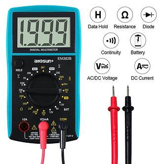 All-Sun EM382B LCD Digital Multimeter DC/AC Voltmeter Continuity