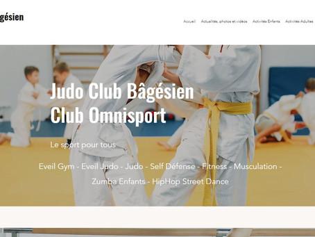 Nouveau site Internet Judo Club Bâgésien