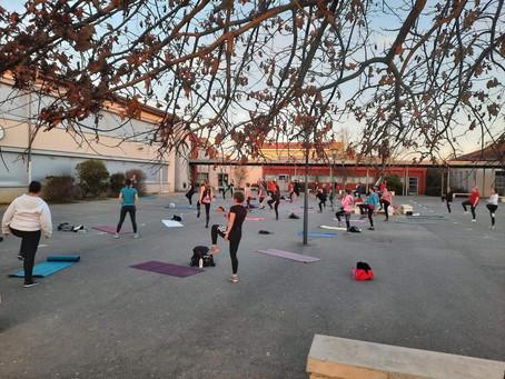 6 cours Fitness en extérieur du 29 mars au 03 avril