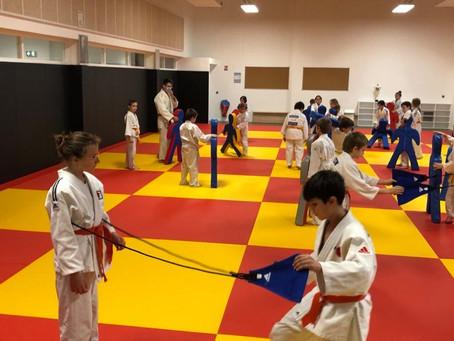 Stage de Noël pour les judokas
