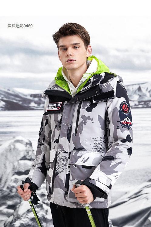 男士羽绒服鹅绒短款2019新款时尚工装加厚外套B90142025