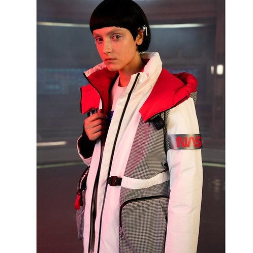 【NASA系列】波司登女中长款2019新品鹅绒保暖羽绒服B90142958