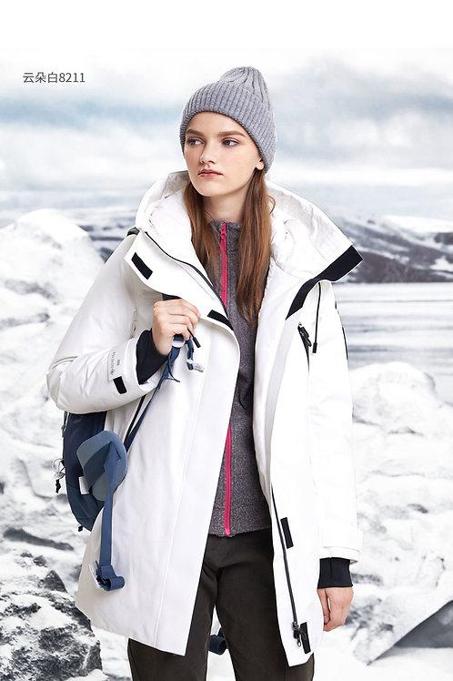 GORE-TEX防水鹅绒中长款时尚外套B90142820