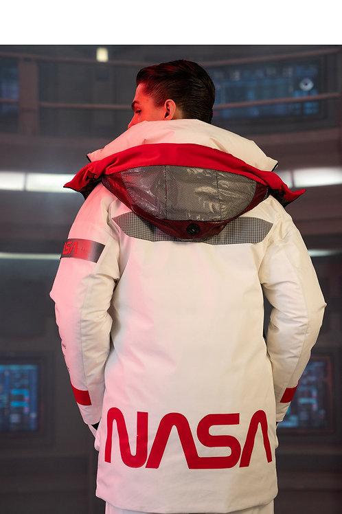 【NASA系列】波司登男中长2019新款鹅绒保暖时尚羽绒服B90142957