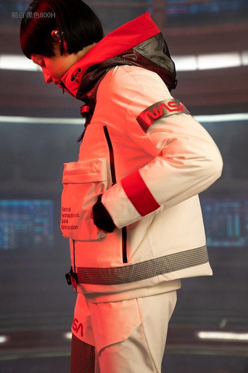 【NASA系列】波司登女连帽短款2019鹅绒加厚保暖羽绒服B90142954