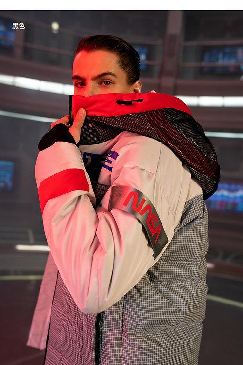 【NASA系列】波司登男中长款2019新品鹅绒加厚羽绒服B90142955