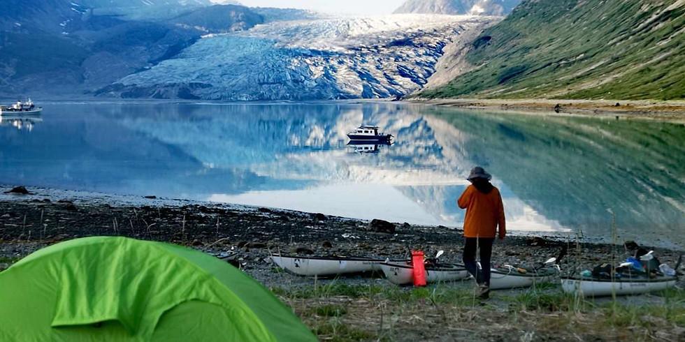 NASU户外讲座专场 | 华人首次阿拉斯加冰川漂流&海洋舟探险之旅