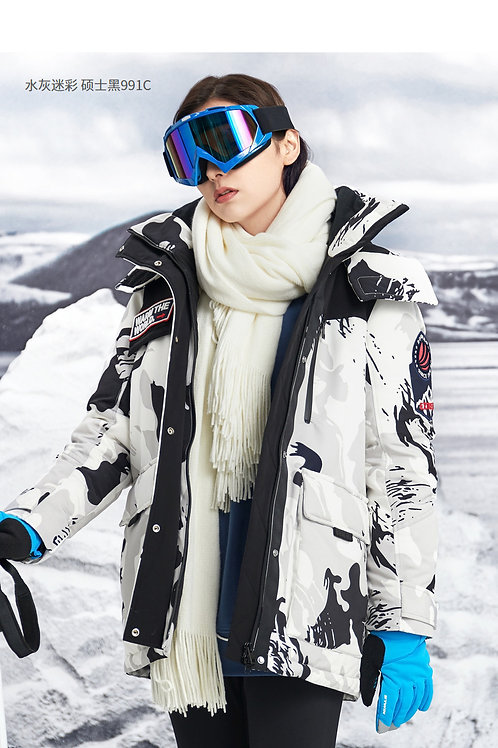 女羽绒服极寒鹅绒加厚2019新款冬季保暖短款外套B90142024