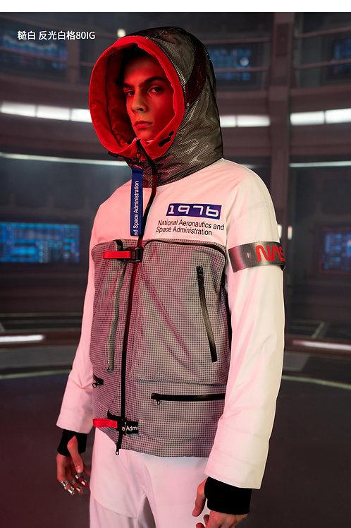 【NASA系列】波司登男羽绒服连帽短款2019新品鹅绒外套B90142953
