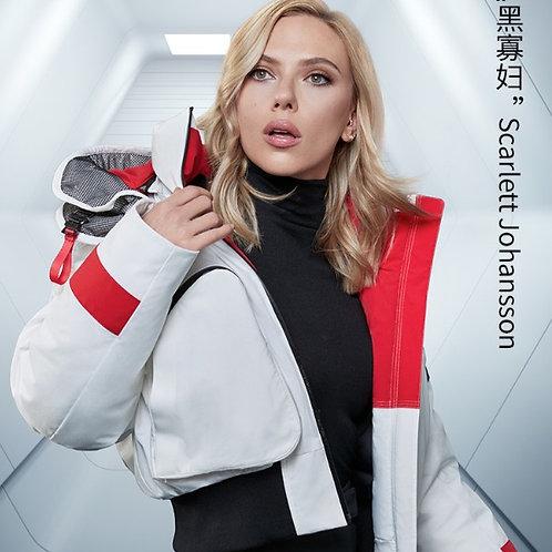 【NASA系列】黑寡妇同款!波司登女羽绒服短款2019新品时尚加厚保暖B90142952